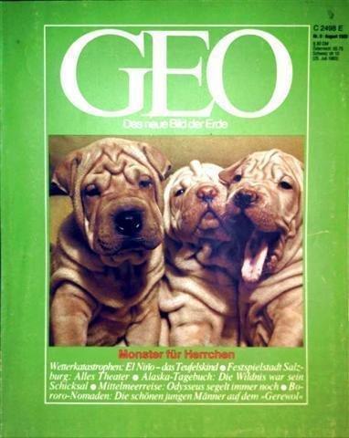 geo magazin 1983 von zeitschrift zvab. Black Bedroom Furniture Sets. Home Design Ideas