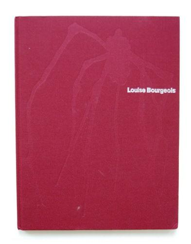 Louise Bourgeois, BOURGEOIS, LOUISE Hardcover Embossed cloth, showing the famous Bourgeois spider, large 4to, 71p, fine ill.in colour and bl/w. Texts by Frances Morris, Marina Warner and the artis