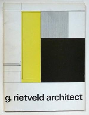 g. rietveld architect: RIETVELD, GERRIT
