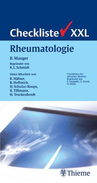 Checkliste XXL Rheumatologie