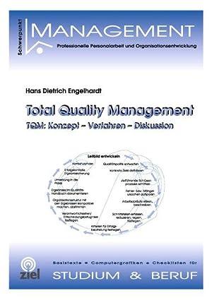 Total Quality Management TQM: Konzept - Verfahren: Engelhardt, Hans Dietrich: