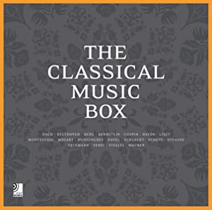 The Classical Music Box (Fotobildband inkl. 8 Musik-CDs)