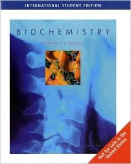 Biochemistry (6th International Edition) - HARDCOVER NEW: Campbell, Farrell