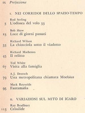 Il Passo dell'Ignoto - Un'antologia di racconti di fantascienza: Aa. Vv. A cura di Carlo ...