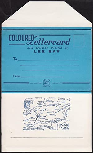Coloured Lettercard - Six Latest Views of: By Harvey Barton