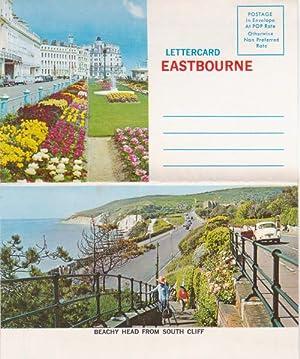 Lettercard Eastbourne - 4 color views: Norman U.S.A. -