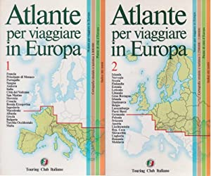 Atlante per Viaggiare in Europa - Volume 1 e 2