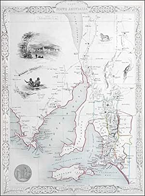 South Australia. Tallis, ca.1851: John Tallis & Rapkin