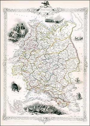 Russia In Europe, Tallis, ca.1851: John Tallis & Rapkin