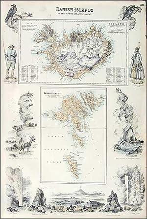 Danish Islands, Fullarton, ca.1860: A. Fullarton