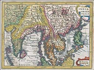 India Orientalis [East Indies],: Mercator, Janssonius