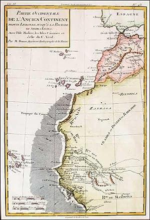 Partie Occidentale de L'Ancien Continent, Depuis Lisbonne, jusqu'a la Riviere de Sierra ...
