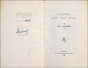 Soames and the Flag,: John Galsworthy