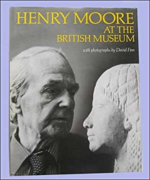 Henry Moore at the British Museum.: Moore, Henry.
