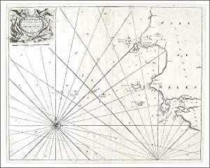 Sea Chart of Milford Haven,: Greenville Collins