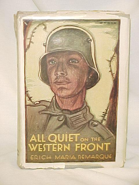 an analysis of erich maria remarques all quiet on the western front Erich maria remarque's all quiet on the western front lays bare the gritty, gruesome and ultimately self-defeating nature of wars as paul baumer and his soldier comrades enlist and join the germany army in order to defeat the enemy, they themselves are slowly vanquished, first psychologically and.