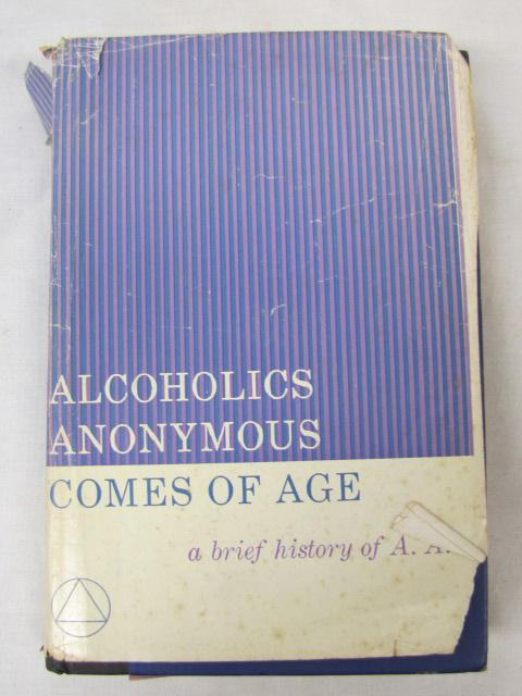 a brief history of the alcoholics anonymous organization for the recovery from the alcoholism Alcoholics anonymous  with one's behavior towards alcoholism alcoholics anonymous as an organization  policy brief entitled resources for recovery.