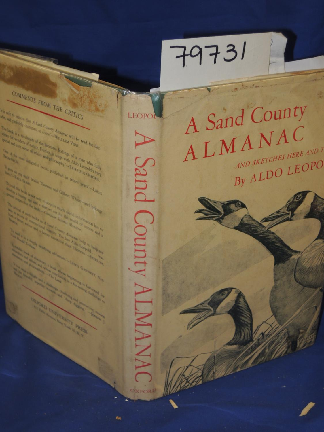 an analysis of the book a sand county almanac by aldo leopold Aldo leopold's a sand county almanac has enthralled generations of nature lovers and conservationists and is indeed revered by everyone seriously interested in.
