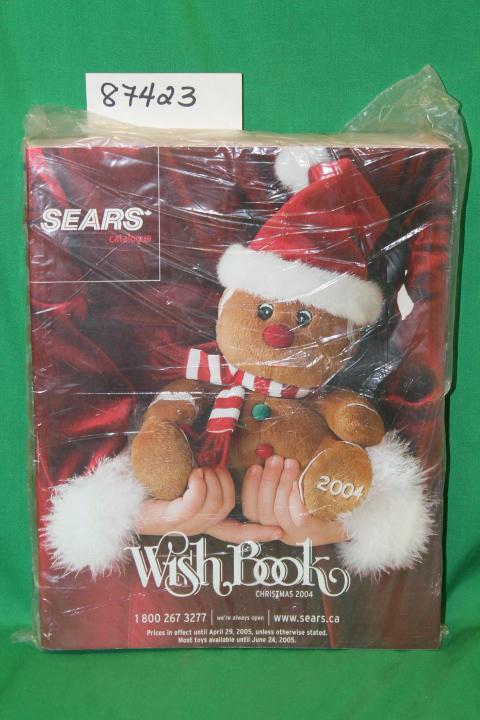 Sears Christmas Photos.Sears Christmas Wish Book 2004 Canada Catalog