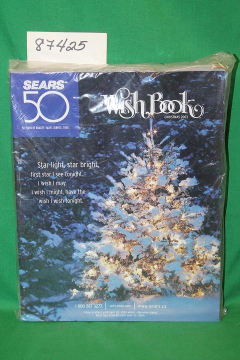 Sears Christmas Photos.Sears Christmas Wish Book 2003 Canada