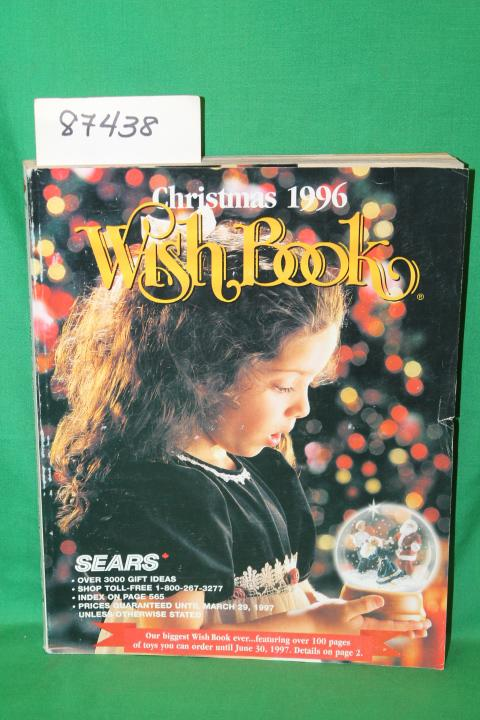 Sears Christmas Wish Book 1996 Canada