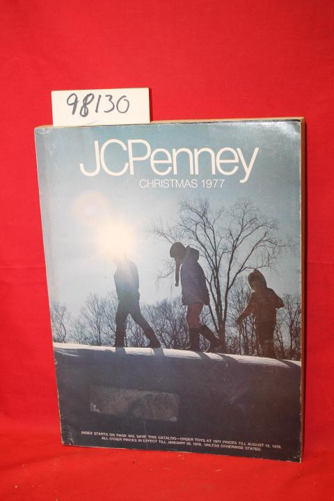 JCPenney Christmas 1977 J. C. Penney Fair Softcover color illustrations, edges worn, order by phone sticker on fornt cover, ADDITIONAL POSTAGE REQUIRED DATE PUBLISHED: 1977 EDITION: 527