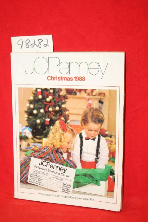 JCPenney Christmas 1988 J. C. Penney Company Fair Softcover color illustrations, creasing to cover, some corners creased, Additional Postage Required DATE PUBLISHED: 1988 EDITION: 547