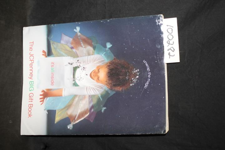 The JCPenney BIG Gift Book Holiday Catalog 2000 JCPenney Fair Softcover pages clean, color illustrations, shelf worn DATE PUBLISHED: 2000 EDITION: 695
