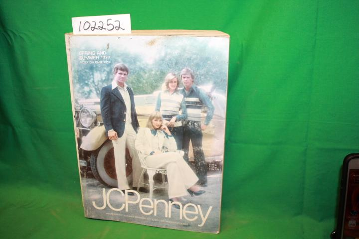 JCPenney Spring and Summer 1977 JCPenney Fair Softcover color and black/white illustrations, shelf worn DATE PUBLISHED: 1976 EDITION: 1187