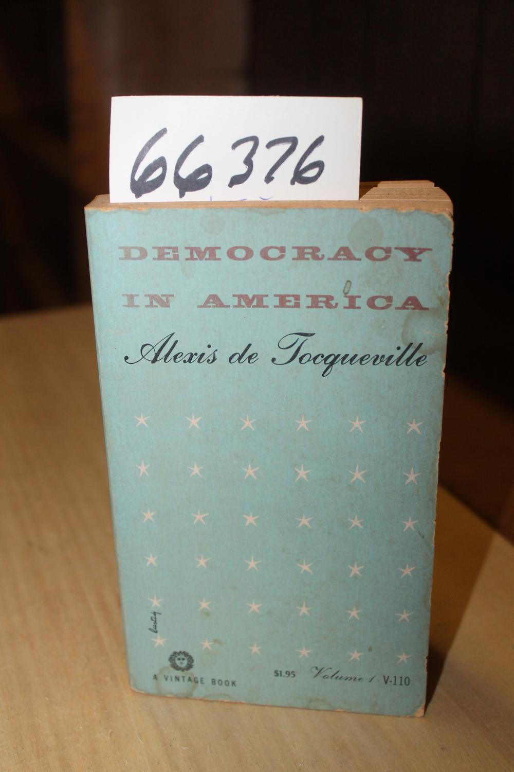 democracy in america by tocqueville abebooks