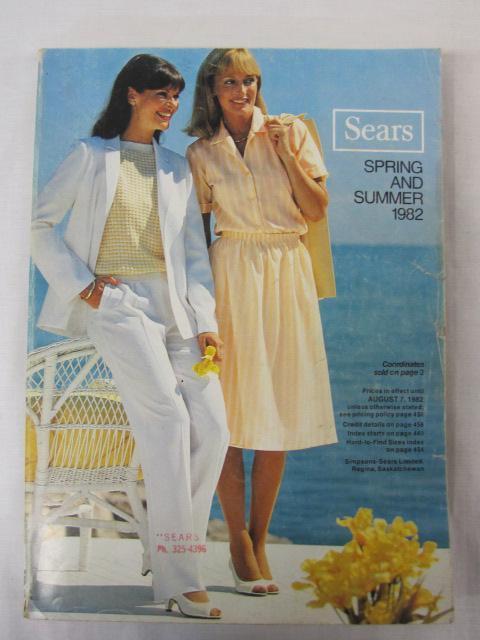 Sears Catalog Spring/Summer 1982