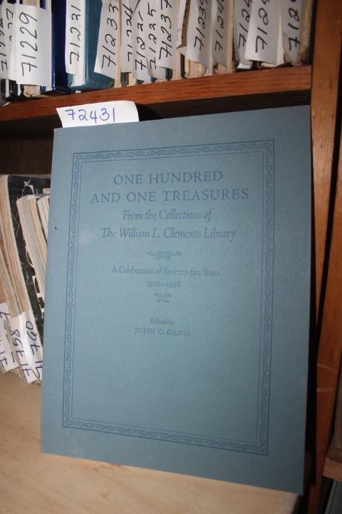 One Hundred and One Treasures From the Collections of The William L.Clements Library