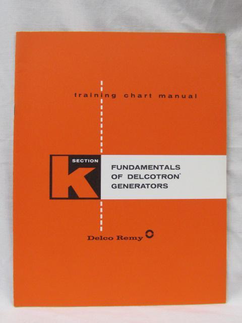 training chart manual abebooks rh abebooks com Delco Remy Alternator Identification Numbers Delco Remy Alternator Identification Numbers