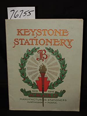 Complete Catalogue of Keystone Stationery: Keystone