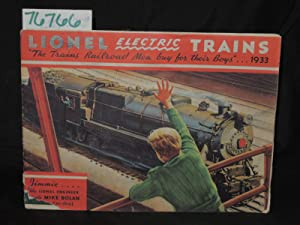"Lionel Electric Trains Railroad Catalog"" The trains Railroad Men but for their Boys"": ..."