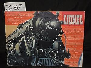 Lionel Train Railroad Catalog Magazine: Lionel