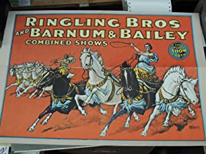Ringling Bros and Barnum & Bailey Combined Shows: Ringling Bros and Barnum & Bailey Poster
