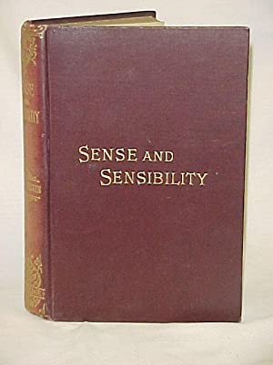 Sense and Sensibility 1896 CIRCA: Austen, Jane