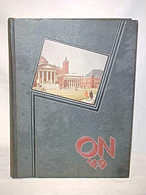 Onondagan Vol. LXVI 1949 Yearbook: Onondagan SYRACUSE UNIVERSITY