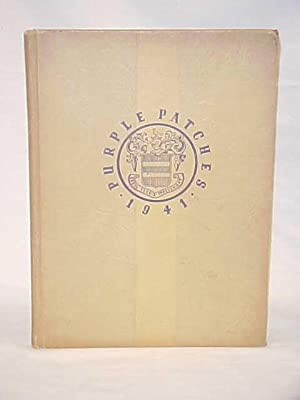The 1941 Purple Patches Harcum Junior College Yearbook: Harcum Junior College Yearbook