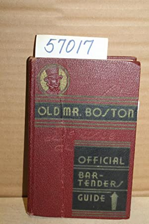 Old Mr. Boston DeLuxe Official Bartender's Guide: Cotton, Leo