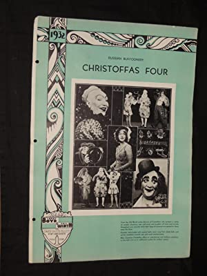 Christoffas Four: Russian Buffoonery: Larry Boyd & Phil Wirth Inc. Strand Theatre Building