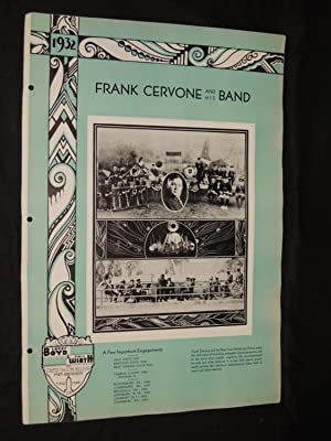 Frank Cervone and his Band: Larry Boyd & Phil Wirth Inc. Strand Theatre Building