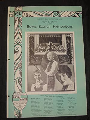 Roy D. Smith and His Royal Scotch Highlanders: America's Best Exposition Band: Larry Boyd & ...