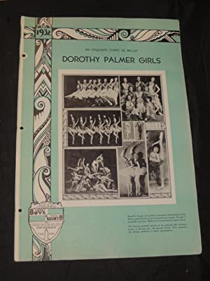 Dorothy Palmer Girls: An Exquisite Corps De Ballet: Larry Boyd & Phil Wirth Inc. Strand Theatre ...