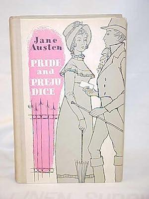 Pride and Prejudice, 1961 tan hardback: Austen, Jane
