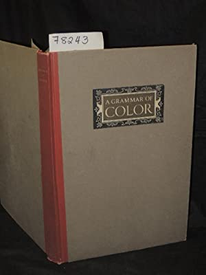 A Grammar of Color Arrangements of Strathmore Papers in Variety of Printed Color Combinations ...