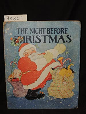 The Night Before Christmas: Moore, Clement , Illustrated by Fern Bisel Peat.