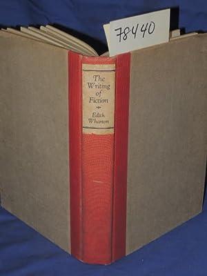 THE WRITING OF FICTION: Wharton, Edith