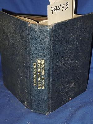 DUTCH-ENGLISH AND ENGLISH-DUTCH DICTIONARY: Renier, Fernand G.